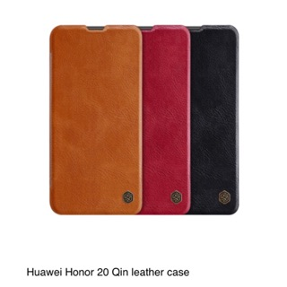 Review เคสหนังฝาพับ Huawei Nova 5T/Honor 20/Nova5t Nillkin QIN Leather Case
