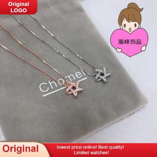 2020 Singapore chomel necklace three-dimensional star necklace six-manger choker Chinese Valentine's Day gift