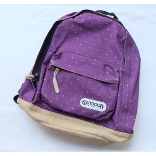 Outdoor Product Backpack Size 17 นิ้ว x 17 นิ้ว สีม่วง มือสอง ข