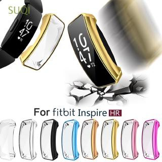 Review SUQI Fitbit Inspire & Inspire HR Watch Protective Case Cover Frame