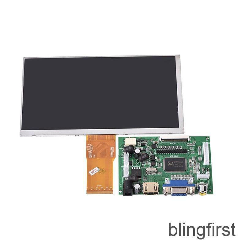 Review 【∮】 7 inch LCD Screen Display Monitor Raspberry Pi+Driver Board HDMI/VGA/2AV ☆HOT☆
