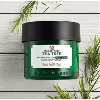 Review THE BODY SHOP TEA TREE ANTI-IMPERFECTION NIGHT MASK 75 Ml