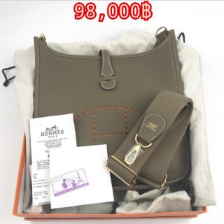 Review Hermes Evelyne  PM Etoupe GHW  98000 (แบ่งชำระ 49000 x 2รอบ)