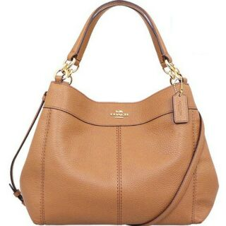Review 👜COACH SMALL LEXY SHOULDER BAG👜  🍭COLOR : IMITATION GOLD/LIGHT SADDLE