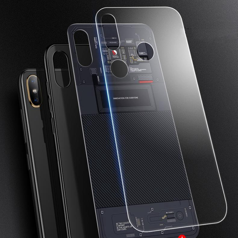 Image # 3 of Review Zenfone Max Pro M1 ZB601KL ZB602KL Cartoon Glass 5G Technology Core Phone Case