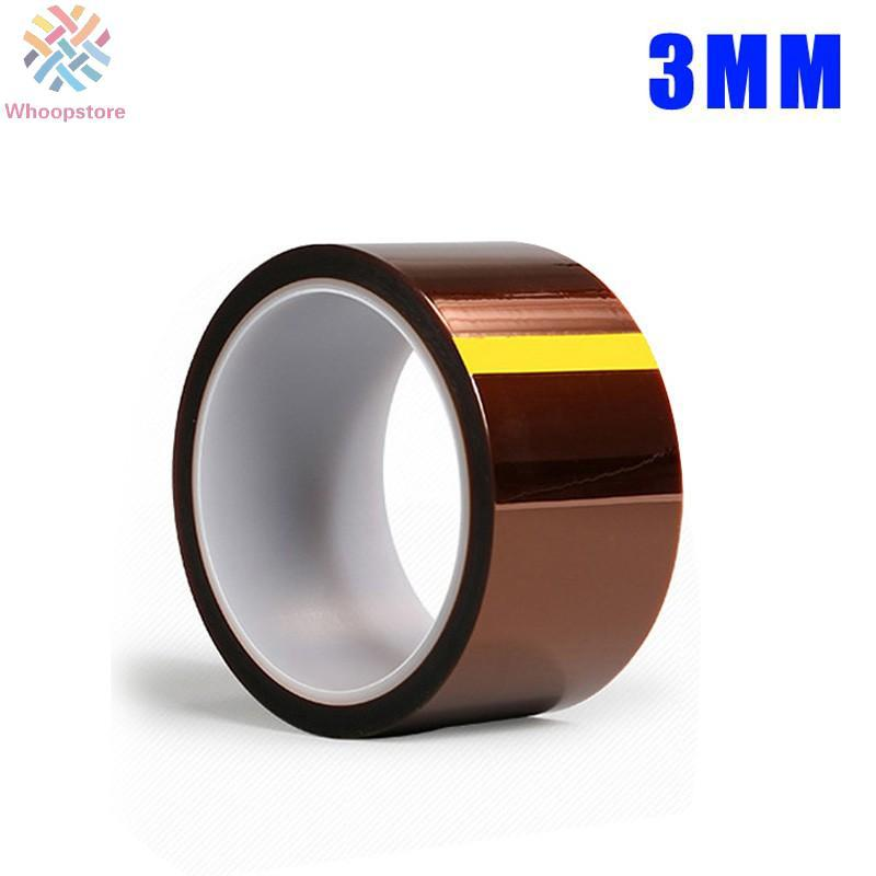 Review 3-150mm 33M Slug Tape Electric Circuit PCB Board Tape Polyimidefilm Plfilm Tape*