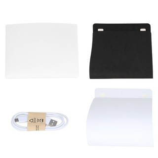 Image # 8 of Review Ifone Portable 40CM Photography Lighting Cube Tent Photo Studio Light Box 2-LED-Strips