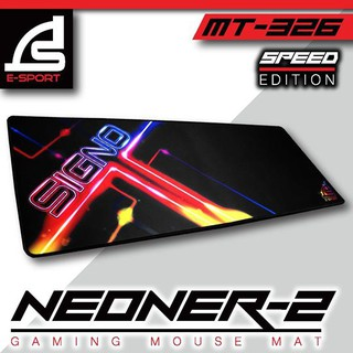 SIGNO E-Sport MT-326 NEONER-2 Gaming Mouse Mat Speed Edition