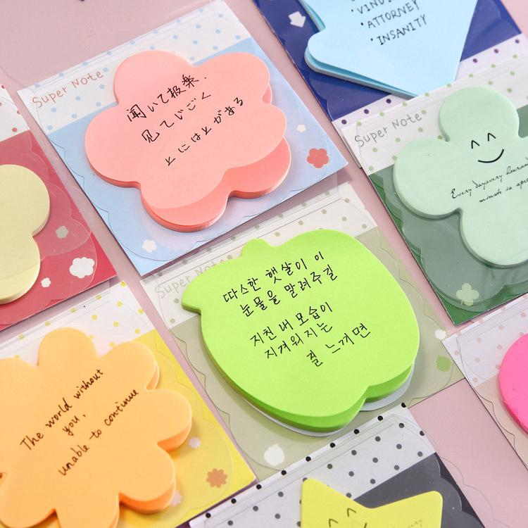 The best Cute Korean Style Memo Small Sticky Notes ins Post-it Stickers