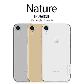 Review Nillkin เคสมือถือ Apple iPhone XR รุ่น Nature TPU Case Premium Soft Case 0.6mm