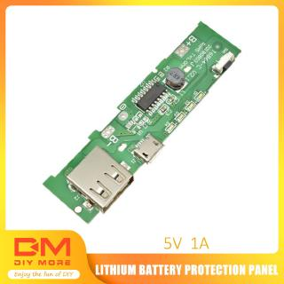 Review DIYMORE | 5V 2A USB Power Bank Charger Module Mobile Phone PCB Board For 18650 Battery