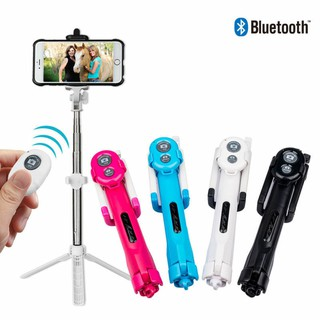 Bluetooth Selfie Stick Tripod Monopod Remote Control 360° Clamp iOS An