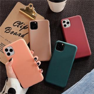Casing Samsung Galaxy A21s A71 A51 A11 A01 A50s A30s A20s A10s A50 A70 Silicone Dark Green Liquid Ultra Thin Candy Color Soft TPU Case