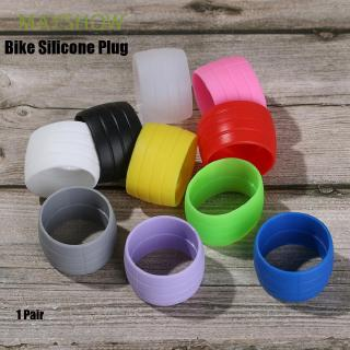 Review MAYSHOW 1 Pair Hot 10 colors Waterproof Wear Resistant Outdoor Cycling Strap Anti-Skip Bike Plug Rubber