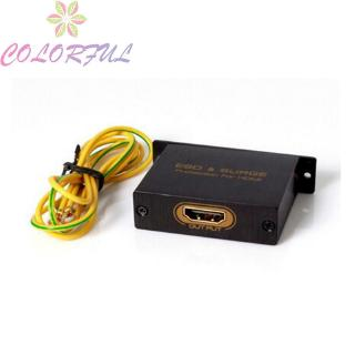 HDMI Surge Protector Connector ESD Protection Against Electrostatic Cable Discharge Accessories Cables Conv