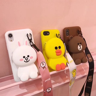 Review Cartoon Cute Coin Purse Phone Case HUAWEI Mate9 Mate9pro Mate10 Mate10pro Mate20 Mate20pro Mate20X Cover กรณีที่โทรศัพท์
