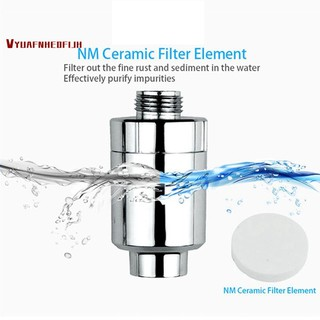 Purifier Bath Shower Filter Bathroom Kitchen Head In-Line Faucet Clean Water Tap Softener Chlorine Filters