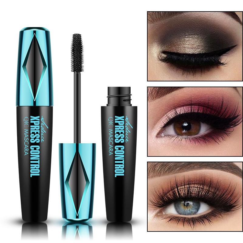The best Smurf Magic Thick Mascara 4D Curling Natural Slender Persistent Not Take off Makeup