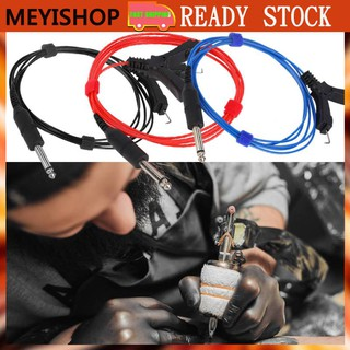 Review MEYISHOP 3 Colors Tattoo Hook Line Ultra-fine Durable Tattoo Power Line Tattoo Motor Machine