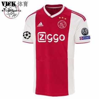 Review อาแจ็กซ์ ฝรั่งเศส เสื้อฟุตบอล Ajax Red Football Jersey home and away 2018/2019