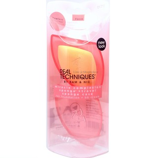 The best Real Technique Miracle Complexion Sponge พร้อมเคสใส่ฟองน้ำ