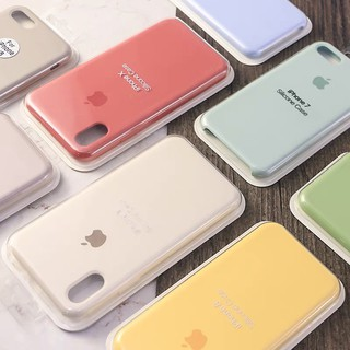 Review (62 Colors) เคสโทรศัพท์ซิลิโคนบางเฉียบสำหรับ iPhone 5 6s 78 Plus XS Max iPhone 11Pro MAX case iphone x case iphone Cover