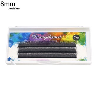 seablue_❥8/9/10/11/12mm Y Shape False Eyelashes Natural Thick Lash Extension Makeup Tool
