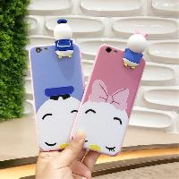 Image # 5 of Review เคส Huawei P9  P9plus P10plus iphone 6 6s 6plus 7plus vivo V5s ฝาหลังทีพียูการ์ตูนปีนจอ Mickey Minnie Mouse Donald Duck
