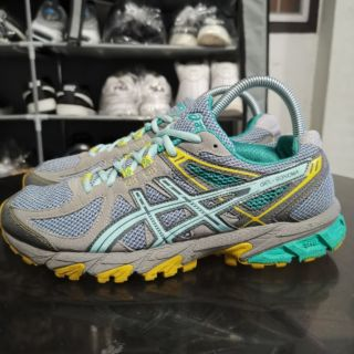 Review รองเท้า​ ASICS Women's Gel-Sonoma Trail Gray/Mint Running​มือสองแท้