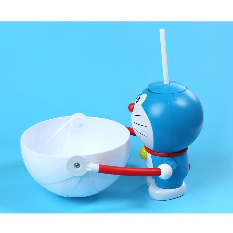 Review Doraemon Doll storage bucket sippy cup combination Movie Exclusive Collection Cup Coke Cup Snack Storage  bucket