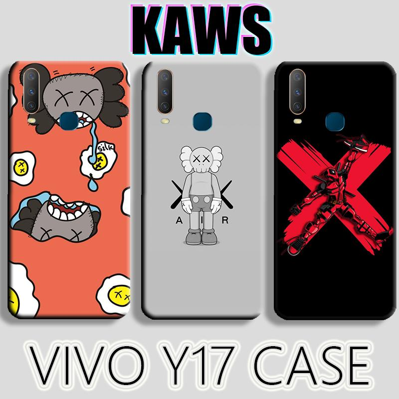 Review เคส Case VIVO Y17 Y15 Y12 V15 V15PRO V11 V11i V9 Y91C IQOO Cartoon lovely The Avengers Deadpool KAWS AJ COOL soft case