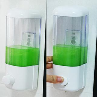 Review 500/1000ml Washroom Body Lotion Single/double Pump Gel Soap Dispenser Shower Wall Mounted Hand Wash Shampoo Liquid