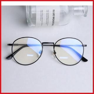 Anti-Blue-Ray nearsighted glasses men women Korean radiation protected plane mirror student goggles round glasses