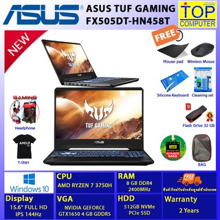ASUS TUF GAMING FX505DT-HN458T/RYZEN 7/8 GB/512 GB SSD/15.6 FHD/GTX1650/WIN10/BY TOP COMPUTER