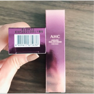 Review (แท้💯)✅ AHC Ageless Real Eye Cream For Face 30ml (In Box)
