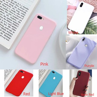 Review Vivo Y85 V9 Y83 Y81 Y71 Y79 Y91 U1 Y93 Y97 Candy Color Matte Soft TPU Silicon Slim Thin Phone Protective Case Cover
