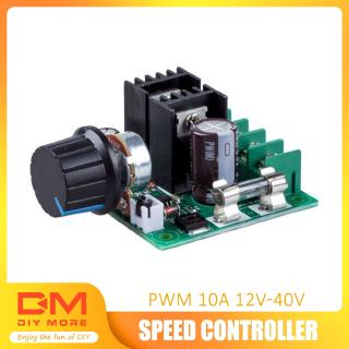 Review DIYMORE | 12V~40V 10A PWM DC Motor Speed Control Switch Controller Volt Regulator Dimmer