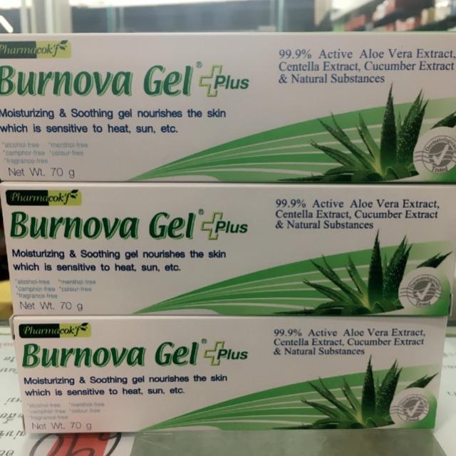 burnova gel plus review