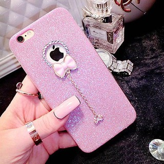 Apple iPhone 5 5s 6 6s 7 11 11pro max x xr xs max Plus Bling Glitter Soft  เคส  with Diamond Pe
