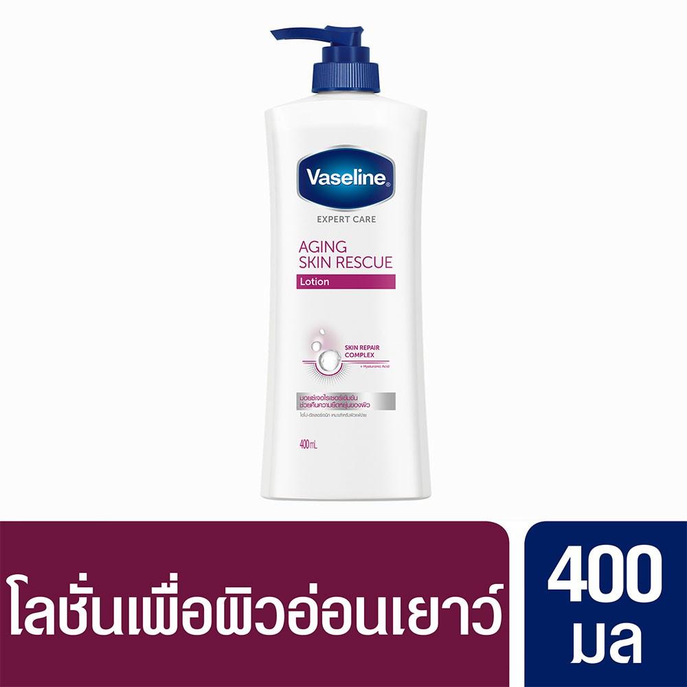 Vaseline Aging Skin Rescue Lotion Pump 400 ml. UNILEVER