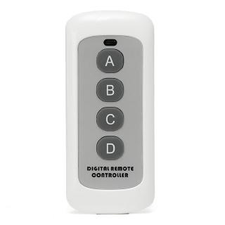 EV1527 Code Garage Home Key Mini Multifunctional Opener RF Transmitter 4 Buttons Wireless Remote Control