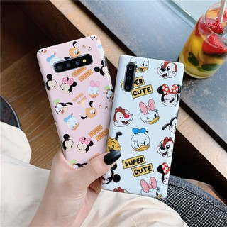Review เคส Samsung Galaxy S10 S10+ S8 S9 S8+ S9+ Note 8 Note 9 Note10 Note10+ Cartoon Donald Daisy Mickey Minnie Soft Case