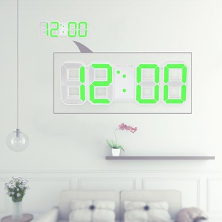 Review Multifunctional Large LED Digital Wall Clock 12H/24H Time Display