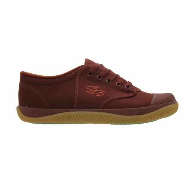 ส่งKerryฟรีรองเท้าผ้าใบเบรคเกอร์ฟุตซอล Breaker Futsal สีน้ำตาล เบอร์ 31,32,33
