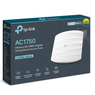 TP-Link EAP245 AC1750 Wireless Dual Band Gigabit Ceiling Mount Access Point (Panso