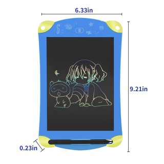 Review 【WL】LCD Writing Tablet With Colorful Screen Sleeve 8.5 Inch Drawing and Writing Board for Kids & Adults Handwriting Pa