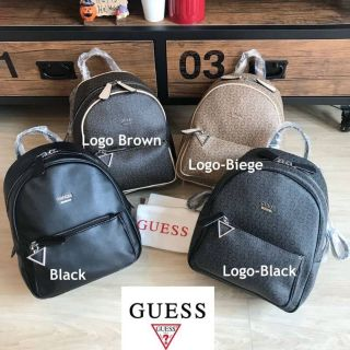 Review ขายถูกมาก!!กระเป๋าแท้Guess Factory Mini Backpack
