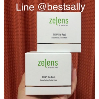 Review พร้อมส่ง Zelens PHA+ Bio-Peel Resurfacing Facial Pads (50 Pads)