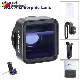 COD+FS!!!    Ulanzi 17 mm Universal 1.33 x anamorphic Phone Lens สำหรับ iPhone XS MAX X Huawei P 20 Pro Mate Movie