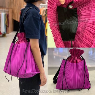 Review กระเป๋า Pleats please issey miyake size L